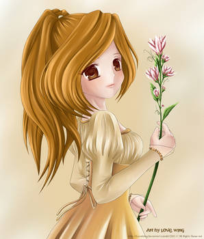 With Flower