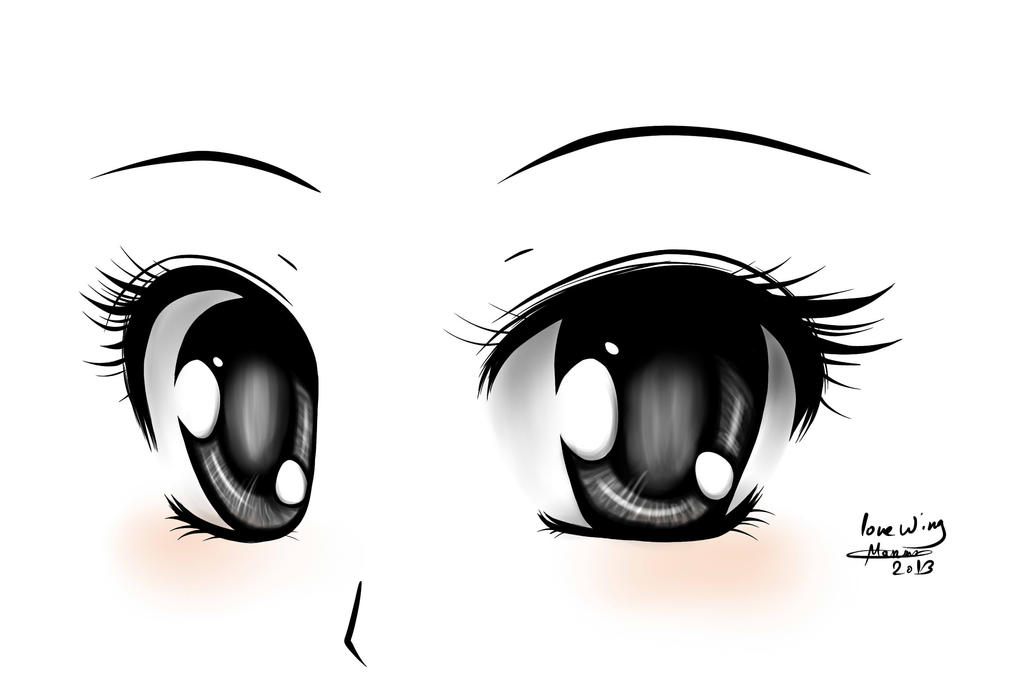 Anime eyes by love wing
