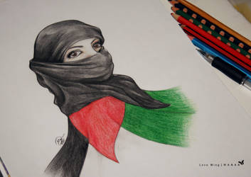 Palestinian girl 2 by LOVE--WING
