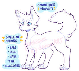 p2u canine base (+different options!)