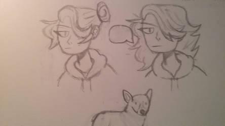 rough sketche