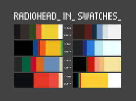 Radiohead in Swatches by mateuseven