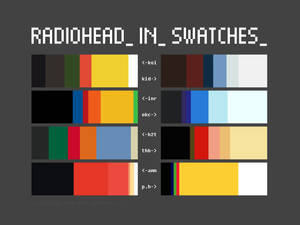 Radiohead in Swatches