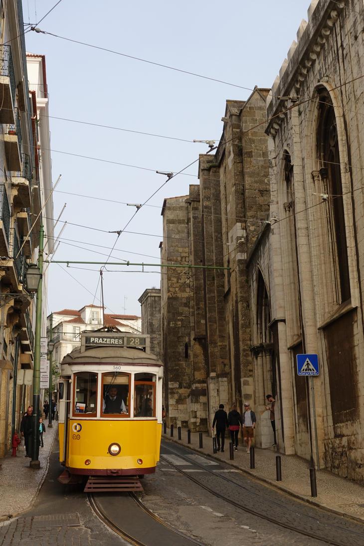 Lisbon Tram 28 by adrasteja