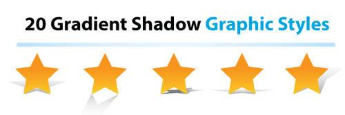 20 Gradient Shadows Collection by orginaljun