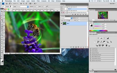 2 Mist Light Streak Photoshop Action by orginaljun