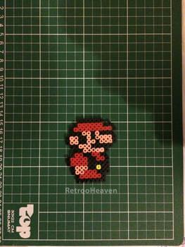 Mario Nes 8 Bit Hamabeads Sprite Perler Pixel Art