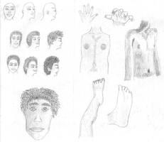 Anatomy Practice by Bladeninja76