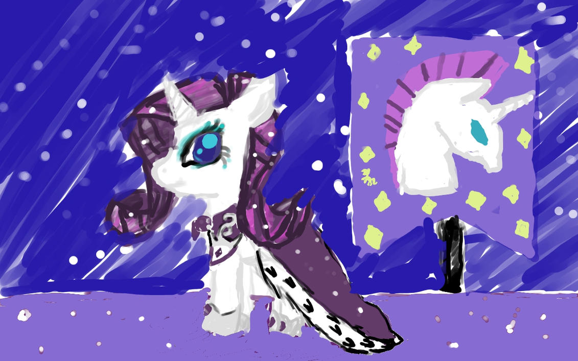 Medieval Princess Rarity ( Royalty Contest ) by nuvemallama