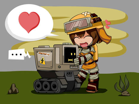 Chibi Engineer (with Complitron)