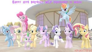 [SFM MLP] Happy 10th Birthday MLP FiM