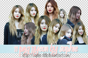 PNG Pack Jiyeon by Sophie by sophie-ddh
