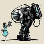 Bioshock Fan Art Ver.2 by Jaruzel