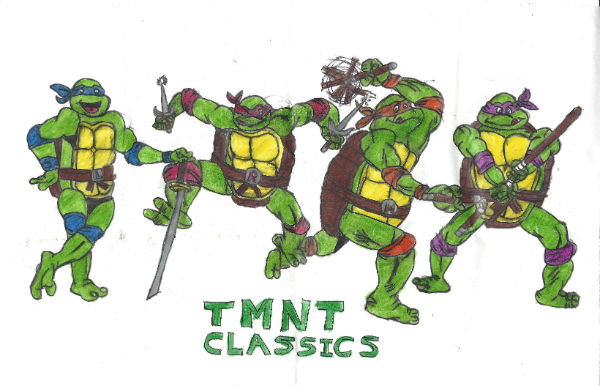Tmnt Classics by thorman
