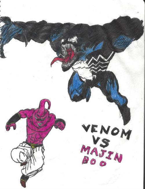 Venom Vs Majin Boo by thorman