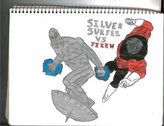 Silver Surfer Vs Jiren by thorman