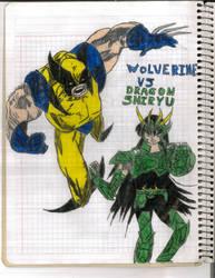 Wolverine Vs Dragon Shiryu Round 2