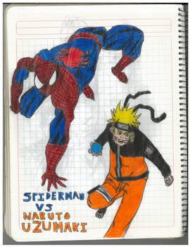 Spiderman Vs Naruto Uzumaki