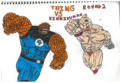 Thing Vs Kinnikuman round 2