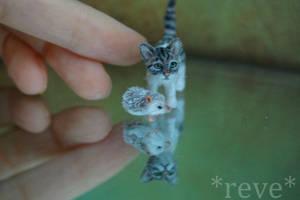 New Friends! ~ * Handmade Miniature Sculptures * by ReveMiniatures