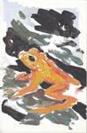 Golden Frog by WildlifeBen
