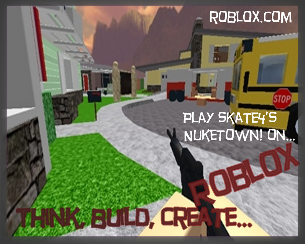Shirt design roblox - Roblox Wall Paper 3 Nuketown By Ninjaguy47thedeviant