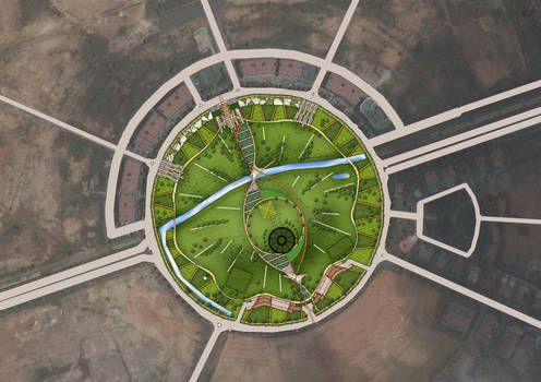 town park plan