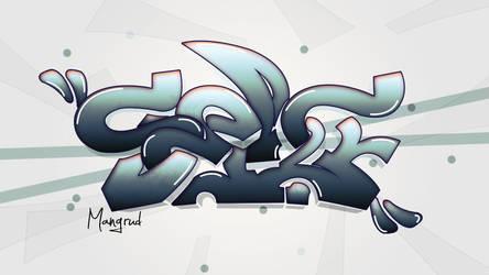 Graffiti, Even Mangrud, evym, abstract