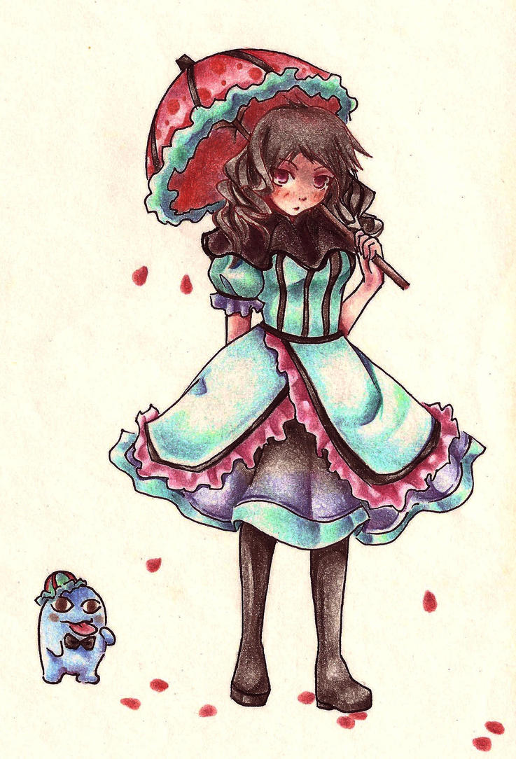 The Blob and The Lolita by Ciereine
