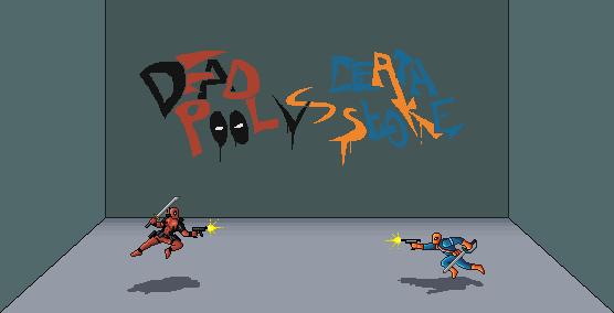 Deadpool Vs Deathstroke Pixel By Wonman321