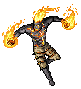 Brand - the Burning Vengeance (pixel) by wonman321