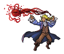Vladimir - the Crimson Reaper (pixel commission) by wonman321