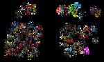 Marvel vs DC - the epic battle (Fire emblem style)