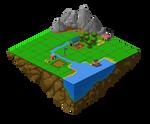 Village on heaven _ Pixel