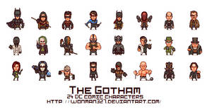 the Gotham (24 characters) by wonman321