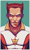 Pixel portrait practice