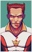 Pixel portrait practice by wonman321