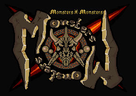 Monsters X Monsters Logo design