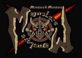 Monsters X Monsters Logo design