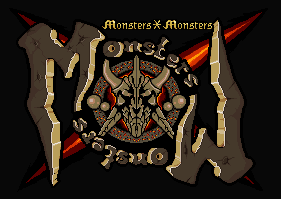 Monsters X Monsters Logo design by wonman321