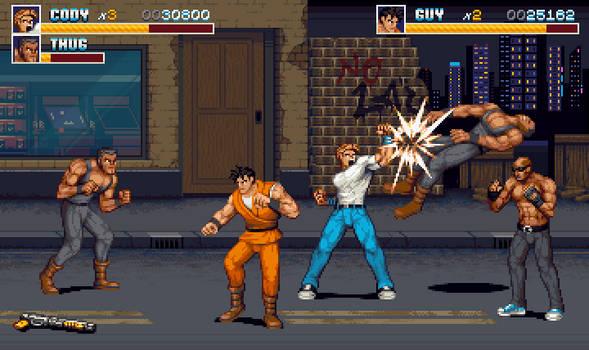 Final fight - remake