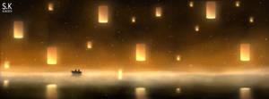 The ocean of lights