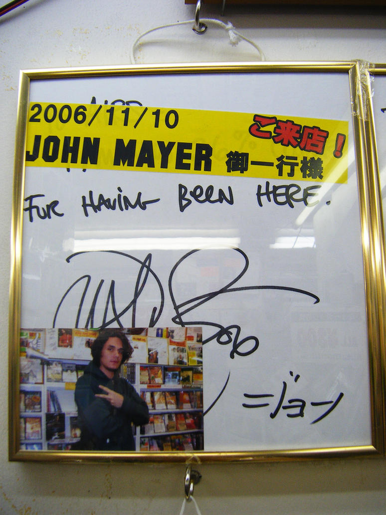 John Mayer at AIRS in Tokyo by Seattle-Storm