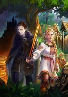 amber sword by rerekina