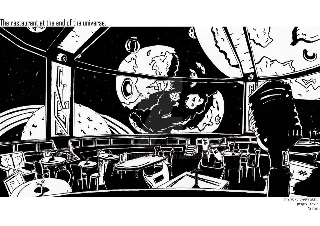 The restaurant at the end of the universe 1 / 2. by RoiTNine