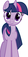 Twilight Sparkle Hugs Vector