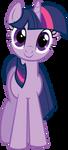 Twilight Sparkle Hugs Vector by kittyhawk-contrail