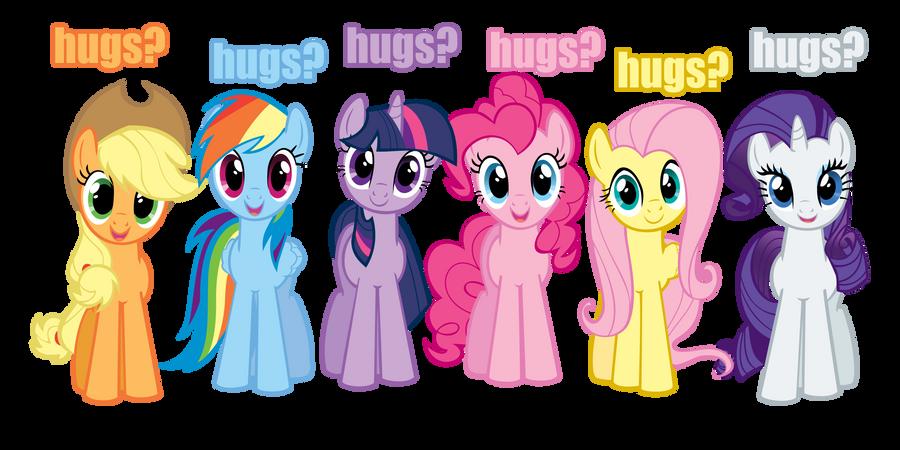 [Obrázek: hugs_vector_mane_6_by_kitsuneymg-d41nylf.png]