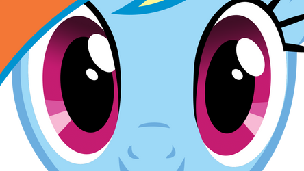 Eyes Rainbow Dash by kittyhawk-contrail