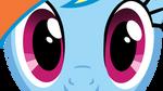 Eyes Rainbow Dash